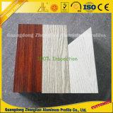 家具のための2016最も新しい木製の穀物の装飾的なアルミニウムプロフィール