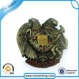 OEM 연약한 사기질 안전 기장 주문 금속 접어젖힌 옷깃 Pin