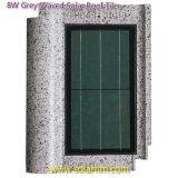 8W灰色の振られた太陽屋根瓦