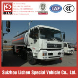 20 톤 Dongfeng 기름 납품 유조 트럭 6*2 세 배 차축 연료 유조 트럭