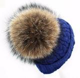 Signora molle lavorata a maglia Hat del Beanie personalizzata modo