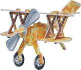 3D Tranning Intelligence DIY Puzzle Plane Model