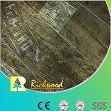 assoalho laminado resistente da água da textura do Woodgrain de 8.3mm