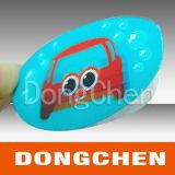 Etiqueta feita sob encomenda impressa reflexiva adesiva profissional do carro da impressão de cor cheia do projeto