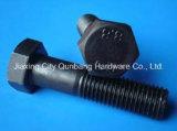 DIN960の十六進ボルト、M5-M56のCL。 4.8/6.8/8.8/10.9黒