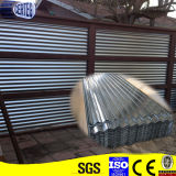 Walls를 위한 Zink Coated Galvanized Corrugated Steel Sheets