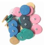 Sostenedor magnético Anti-Corrision coloreado del imán de goma del crisol