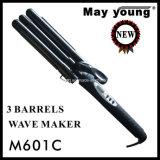 Ferri di arricciatura professionali dei capelli del Tourmaline del rifornimento della fabbrica di M601c