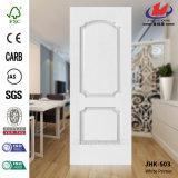 Glatte weiße Primer-Tür-Haut