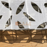 Hoja de aluminio perforada del modelo hueco de la hoja para el sistema de la fachada
