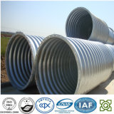 Q235 Material Corrugated Steel Pipe per Highway Culvert