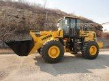 6.0 Tonne Loading Capacity Wheel Loader (HQ966) mit Pallet Fork