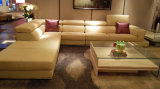 Un Recliner di cuoio L sofà dei 2016 romanzi di figura per la casa (GLS-017)