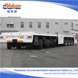 reboque de serviço público do caminhão da carga hidráulica resistente de 6axles 120t
