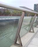 Ponticello placcato speciale del tubo dell'acciaio inossidabile la barriera
