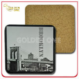 PVC promotionnel Coaster de Gift Customized Fashion Colorful 3D Soft