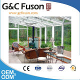 De witte Manier Sunrooms van de Kleur van het Ontwerp van de Glasfabriek van de Veiligheid met Laagste Prijs