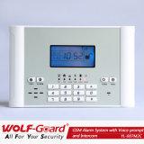 Het draadloze GSM SIM Alarm van het Huis van de Kaart (yl-007M2C)