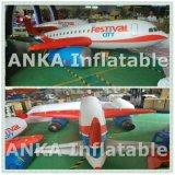 Modello gonfiabile dell'aeroplano dello Zeppelin dell'elio per l'esposizione di promozione