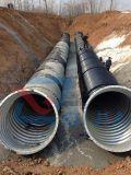 Tubo ondulato del canale sotterraneo