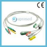 Holter ECG 5 Juego de cables, DIN1.5