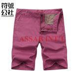 Pantalon court de coton de pantalons de mode de cargaison pure d'hommes