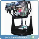 2016 coches de competición más nuevos y simulador de los juegos del vuelo con la rotación de la silla 360degree para el simulador de conducción de interior y al aire libre