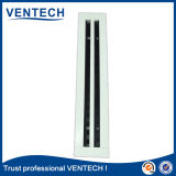 白いカラー古典的な供給HVACシステムのための線形スロット拡散器