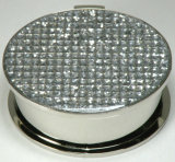 Диамант-Encrusted коробка ювелирных изделий, роскошная коробка хранения ювелирных изделий Keepseek