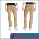 Twill diritto Pure 100% Cotton Pants per Men Jc3377