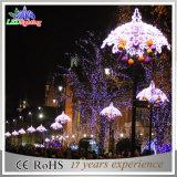 Do diodo emissor de luz da rua do feriado da decoração luz de Natal quadrada ao ar livre