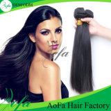 Estensione brasiliana non trattata dei capelli umani dei capelli del Virgin di Aofa
