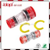 Microduct Reduce Connector 8-3/2.1mm Red Transparent