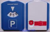 Euro disque en plastique bleu de stationnement de racleur de glace