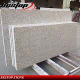 Vanité de granit/de marbre préfabriquée chinoise de salle de bains et dessus de cuisine contre-