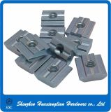 M4 M8 Rouler-dans Single Hole T-Slot Nut pour Aluminum Profiles