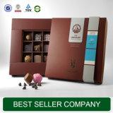Rectángulo de regalo de empaquetado del chocolate de papel de moda de la buena calidad