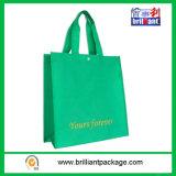 卸し売り緑のNonwovenショッピング・バッグ