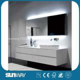 Шкаф тщеты ванной комнаты MDF новой конструкции самомоднейший с раковиной