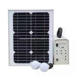 Sistema Home solar de energia renovável para a iluminação