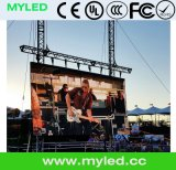 Al aire libre Alquiler de pantalla LED / Panel de pared de video con 500x500mm / 500X1000mm