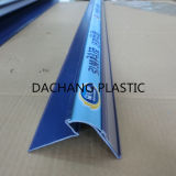 Tira plástica azul de los datos del transmisor del estante del PVC