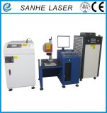 200W400W máquina de soldadura de láser de escáner de fibra 1064nm para escudo de teléfono móvil para la venta