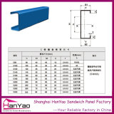Acero de alta calidad de esmaltado C Purlin de China Fabricación
