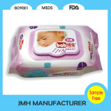 Wipes macios e mais grossos de 80PCS do bebê com tampa dura (BW136)