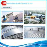 Hoja compuesta revestida del material para techos de la placa de acero de la película nana superventas