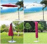 Parapluie de plage UV en porte-à-faux de patio de protection protégeant du vent de Sun