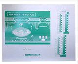 Placa de impressão do formato do picosegundo