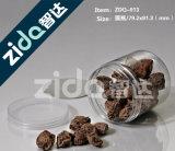 750ml食品等級のHDPEの粉のねじふたが付いているプラスチックコーヒーの缶