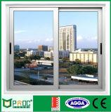 Precio competitivo que resbala la ventana de aluminio